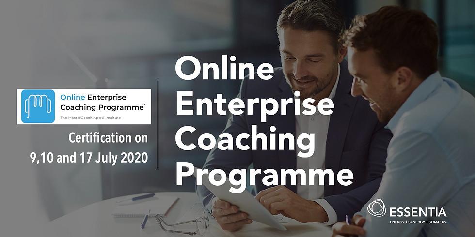 Online Enterprise Coaching Programme (Certification - Jul 2020)