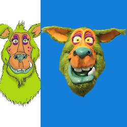 kumee-animated-head design