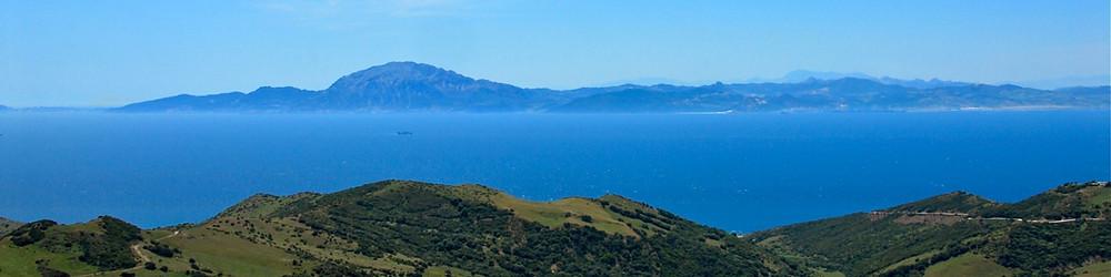 Straits of Gibraltar-Atlas Mountains. Photo copyright by EileenLL.