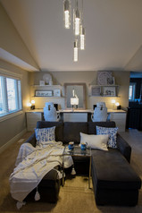 home office and family room interior design elizabeth & grace design