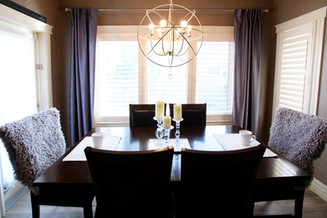 dining room table interior design elizabeth & grace design