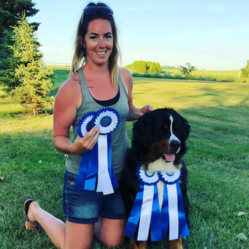 Ginessa - Rally Obedience Novice Title