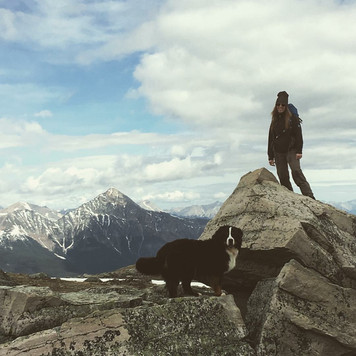 Vito made it to the summit