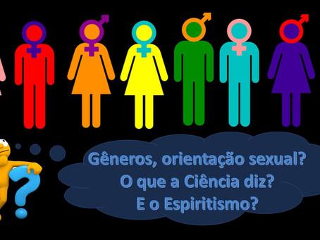 Pequeno estudo sobre gêneros, orientação sexual e o Espiritismo.