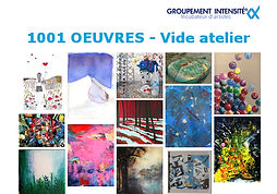 1001 oeuvres Vide atelier