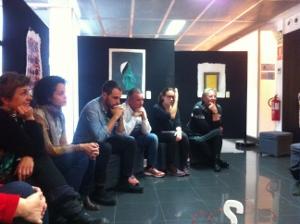 Performance en Andorre sur l'art et