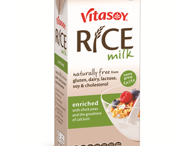 Update on Vitasoy Protein Enriched rice milk