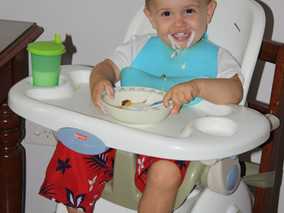 A Mum's birds eye view of Baby Led Weaning