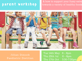 Parent workshop for Fussy Eaters