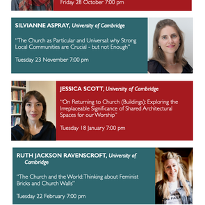 Women Theologians Lecture Series