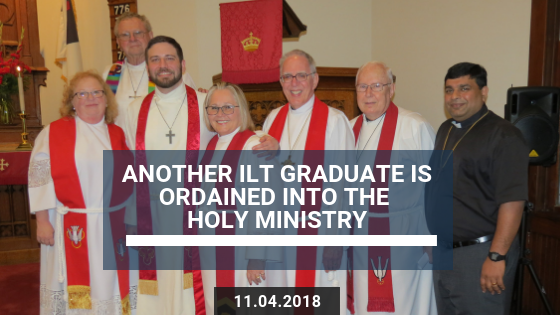 Another Institute of Lutheran Theology Graduate Is Ordained into the Holy Ministry