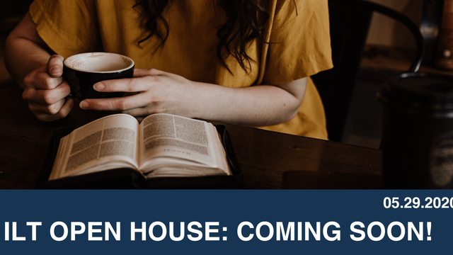 ILT Open House: Coming Soon!