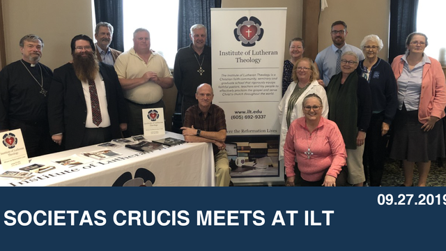Societas Crucis Meets at ILT