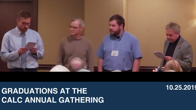 Graduations at the CALC Annual Gathering