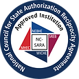 NC-SARA Approved Institution logo round.
