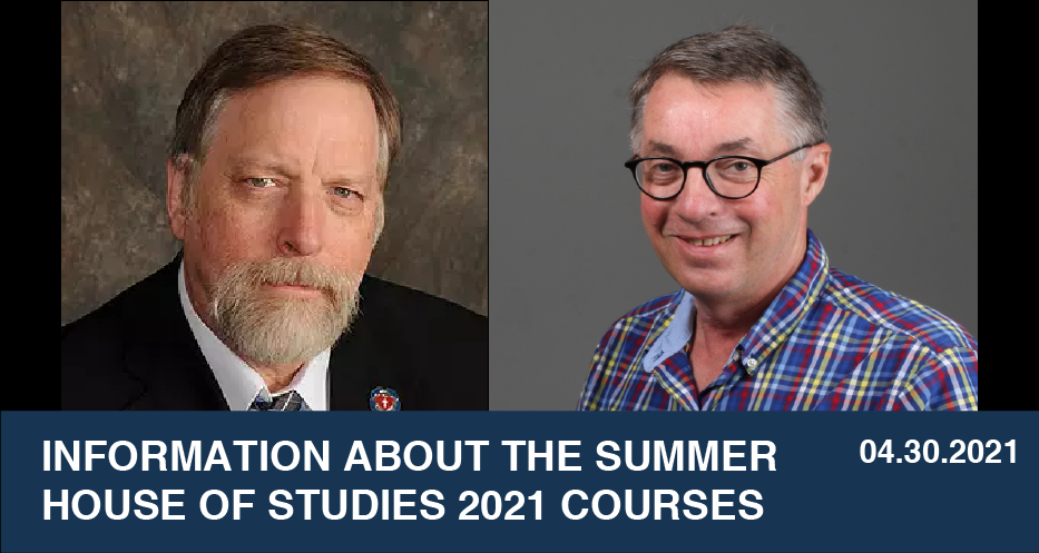 Information About The Summer House of Studies 2021 Courses