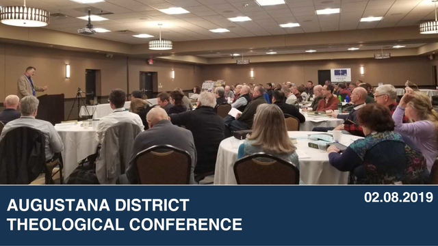 Augustana District  Theological Conference