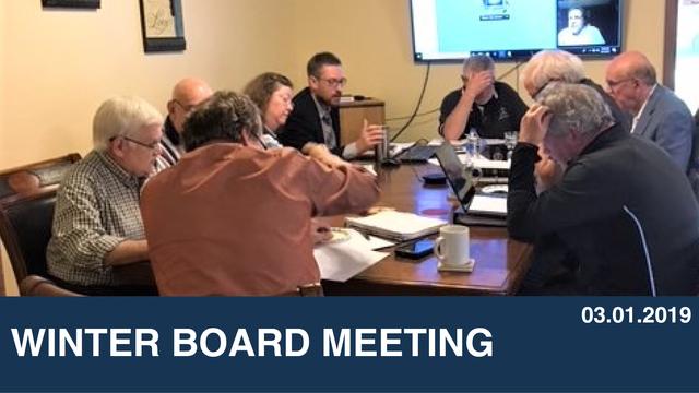 Winter Board Meeting