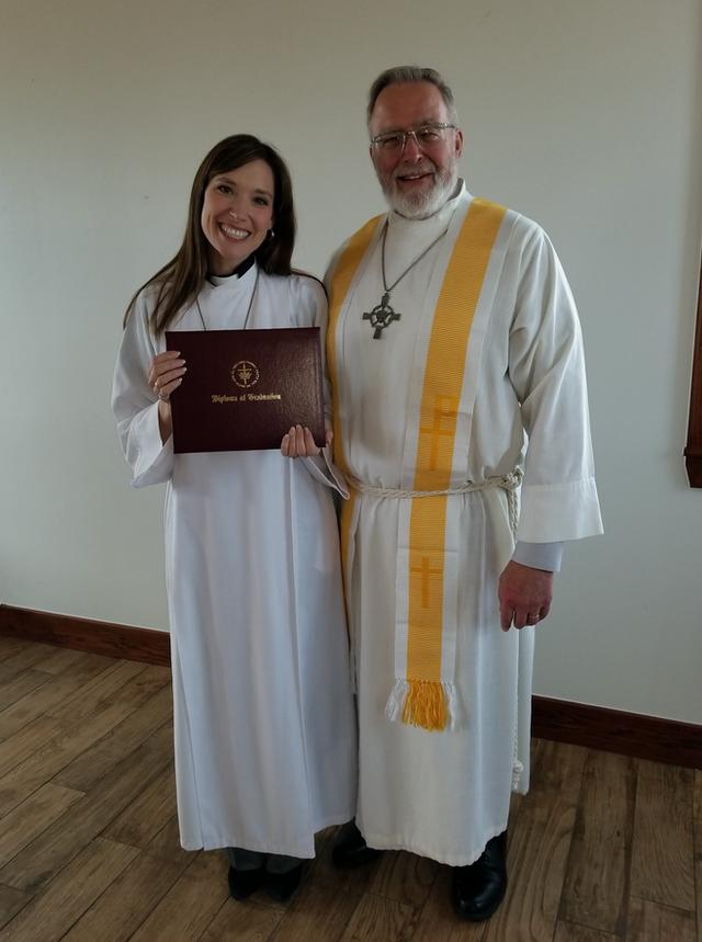 Karin Malinak Receives ILT's Master of Divinity Degree