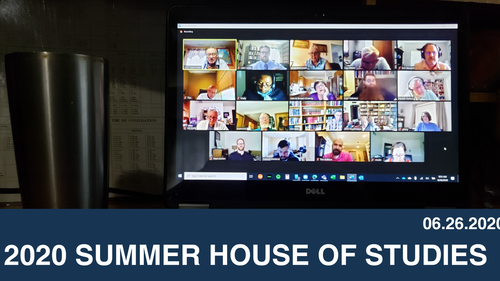 2020 Summer House of Studies