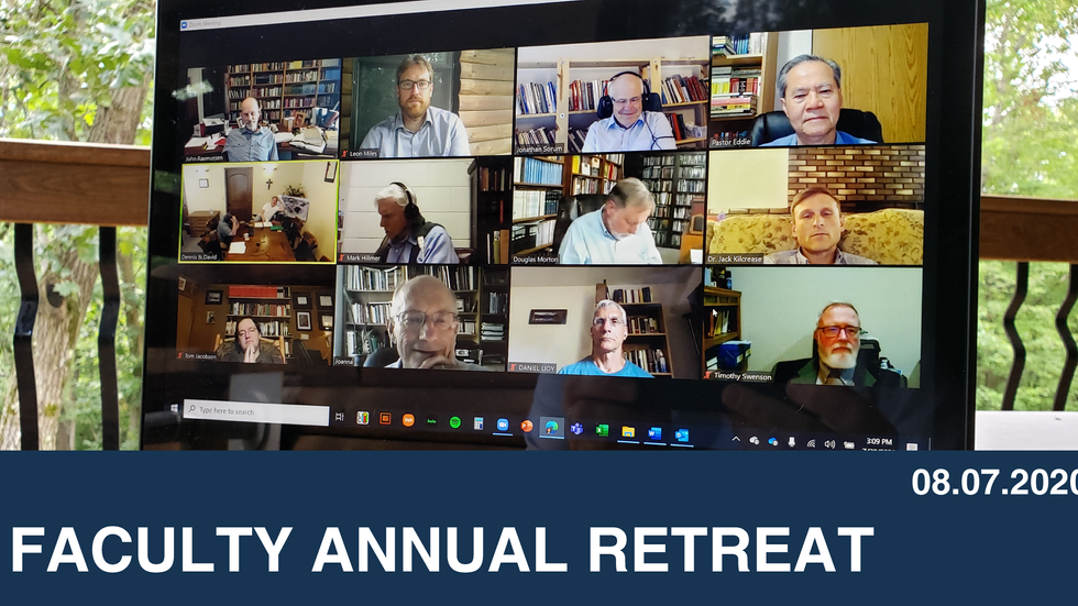 Faculty Annual Retreat
