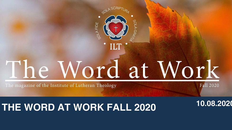 The Word At Work Fall 2020