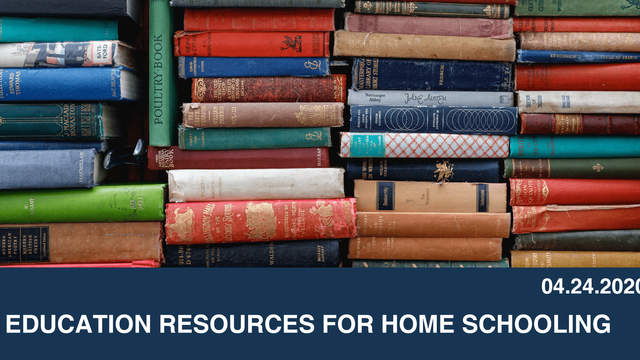 Education Resources for Home Schooling