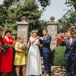 Outsode wedding