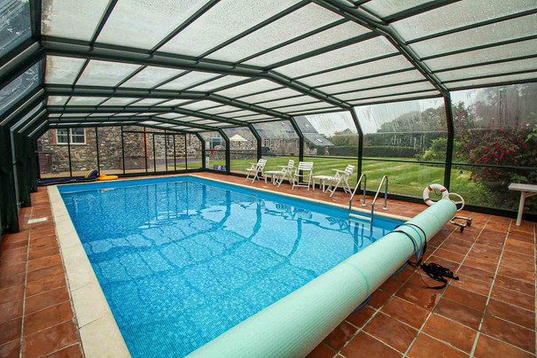 Heated Private Swimming Pool