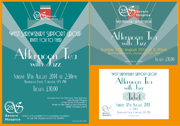 Poster, Flyer & Ticket Set