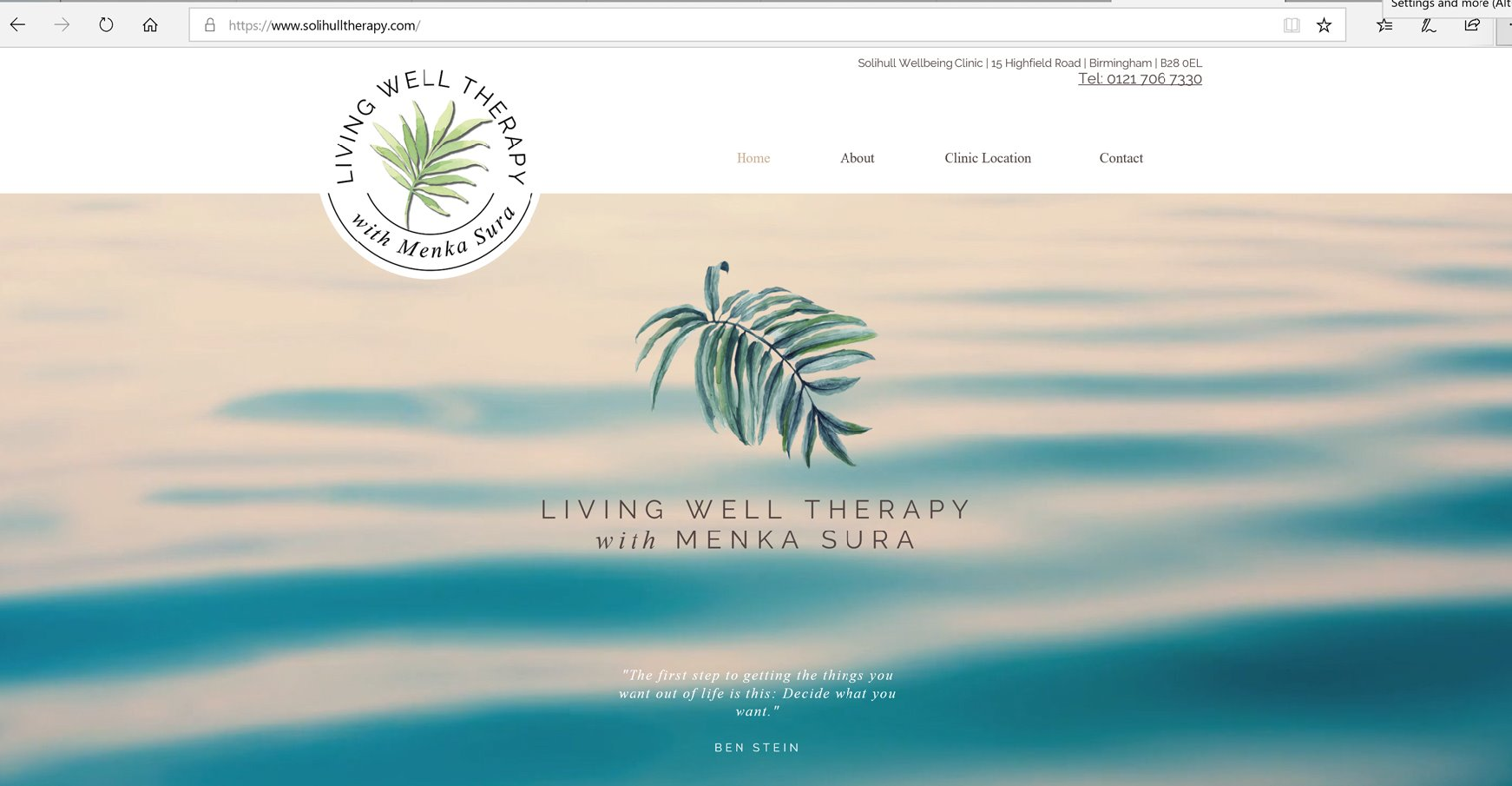 Living Well Therapy