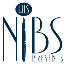 His Nibs Presents A Jolly Good Stationery Company Logo