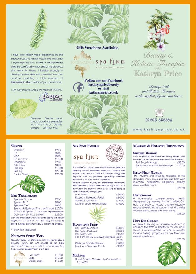 Trifold Leaflet
