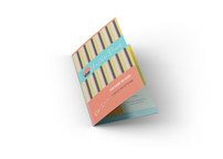 Folded Business Cards by Twisted Border.