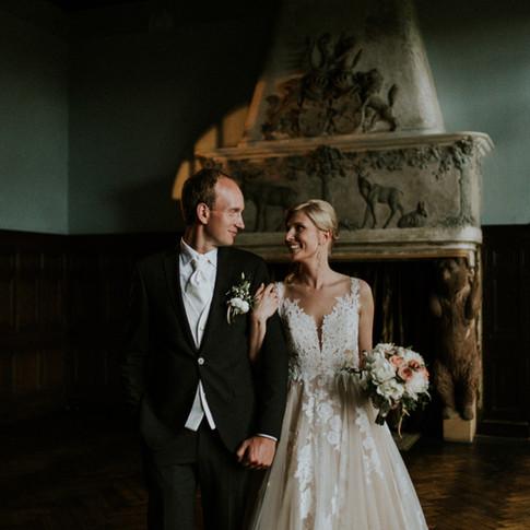 Beautiful Cesvaine Castle wedding Europe