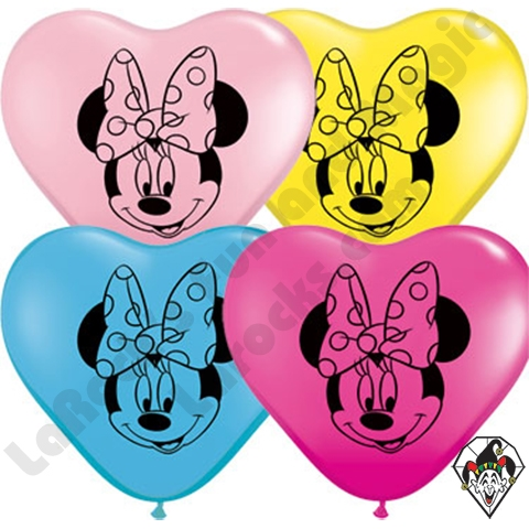 Minnie Mouse- Printed Heart