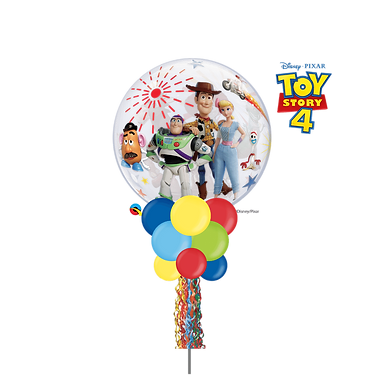 Disney Toy Story 4 Bubble Party Pole