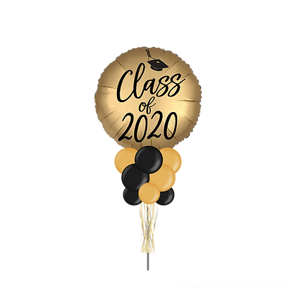 Gold Class of 2020 Large Party Pole