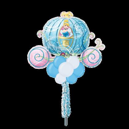 Jumbo Party Pole- Disney Cinderella Carriage