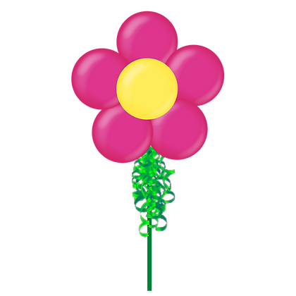 Flower Small Party Pole ADD ON