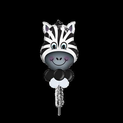 Jumbo Party Pole- Zebra