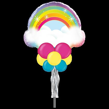 Rainbow Jumbo Party Pole