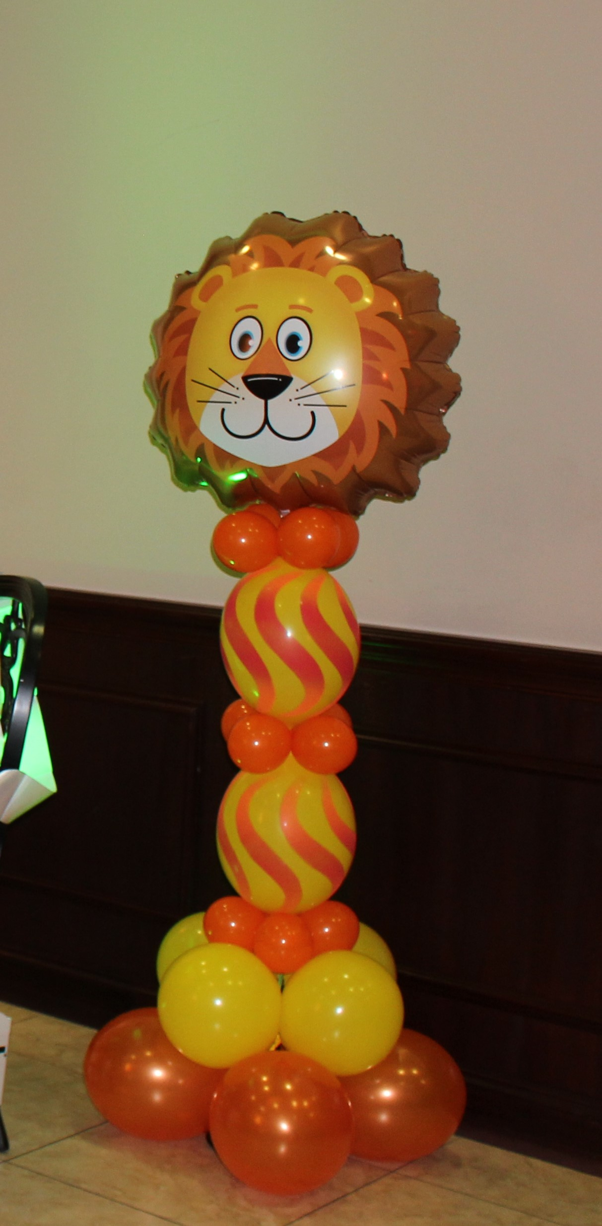 Safari Balloon Decor-Columns