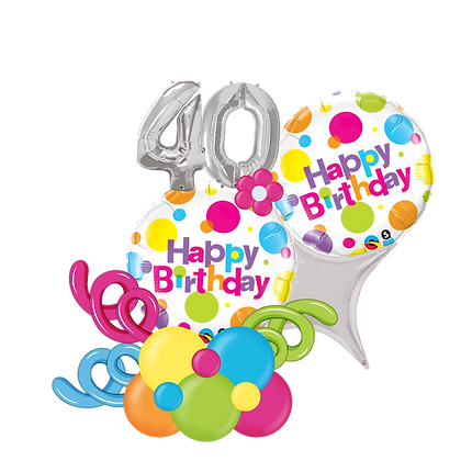 Happy Birthday Balloon Marquee Gift