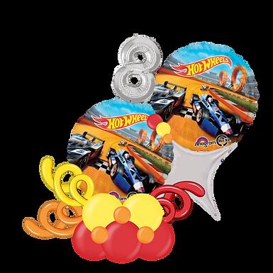 Hot Wheels Balloon Marquee Gift
