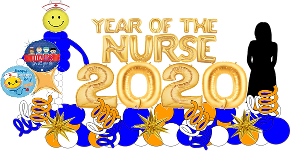 Year Of The Nurse 2020 Display