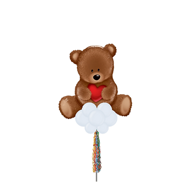 Jumbo Party Pole- Teddy Bear