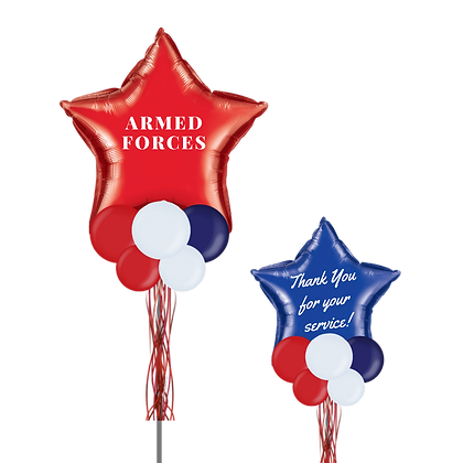 Thank You Armed Forces Combo Party Pole
