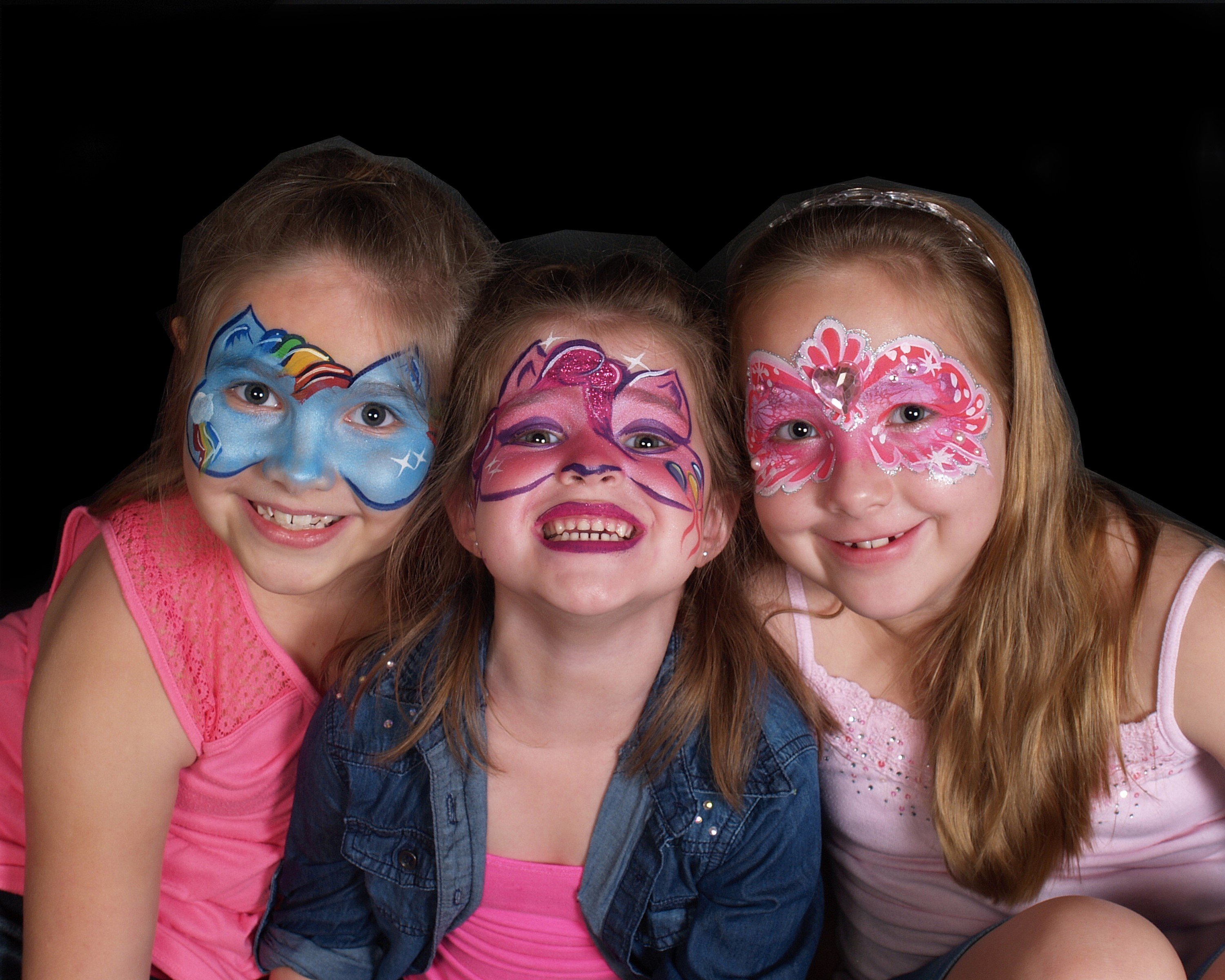 Girl Face Painting 02