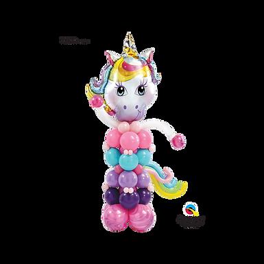 Unicorn Themed Balloon Column